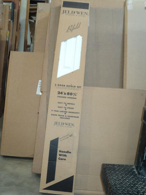 Jeldwen 3-Panel 2-Door Bifold