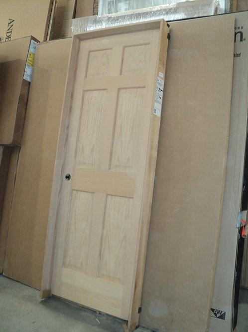 2668 rh - 6-Panel Oak Interior Door