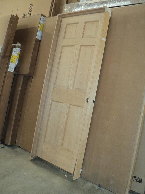 2668 LH - 6-Panel Oak Interior Door