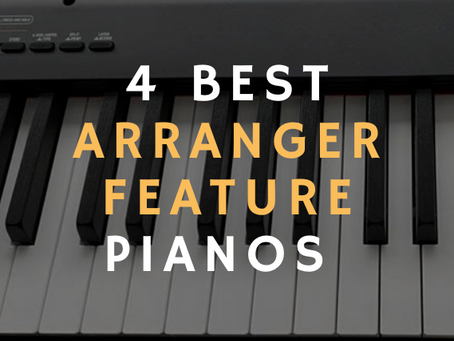 4 Best 88-key Pianos with Arranger Features