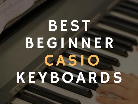 Best Casio Keyboards For Beginners Under $169 USD