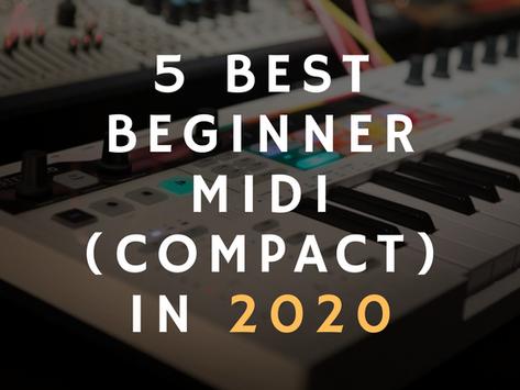 5 Best Beginner MIDI (Compact) Keyboards