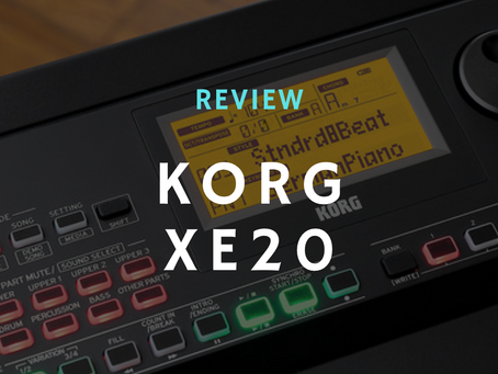 Review: The Korg XE20