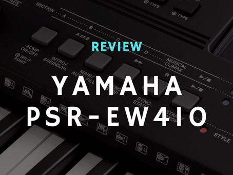 Review: Is the Yamaha PSR-EW410 Still Worth It?