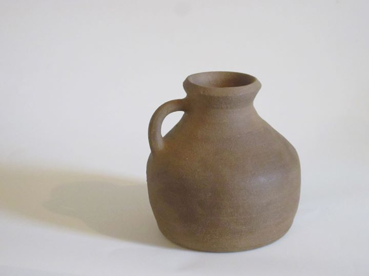 Art post day five of five.  __This jug is part of a set of pottery representing what was used in fir