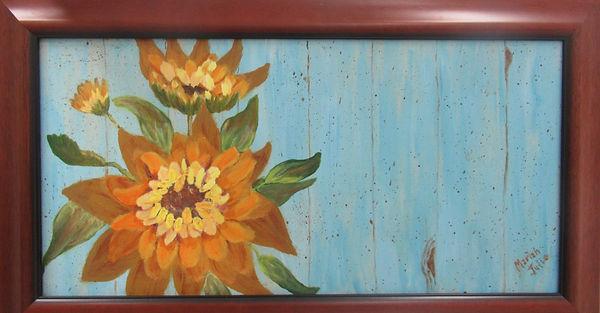 sunflower on barn.jpg