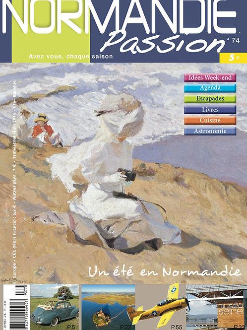 Normandie Passion N°74 été 2016 version numérique