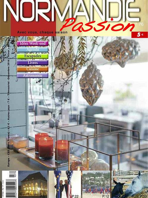 Normandie Passion N°76 hiver 2016-17 papier