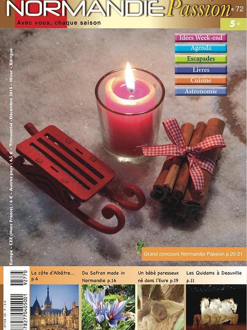 72e Normandie Passion papier hiver 15-16