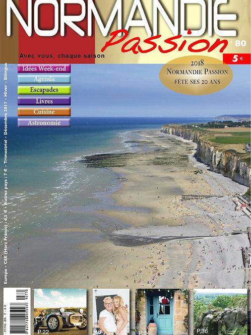 Normandie Passion N°80 hiver 17-18 - Version papier
