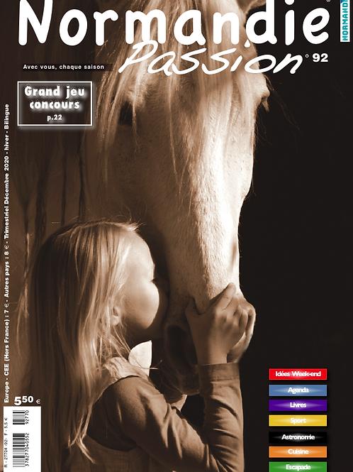 Normandie Passion hiver 20-21 N° 92  papier