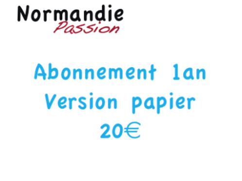 Ab 1 an Normandie Passion + votre 1er n° offert