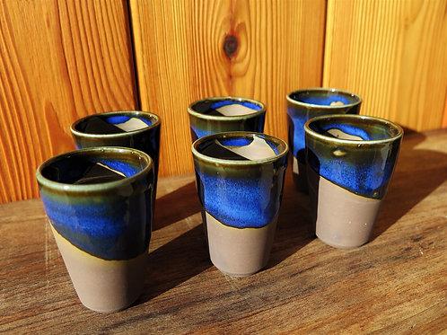 Tasses expresso Noir&Bleu