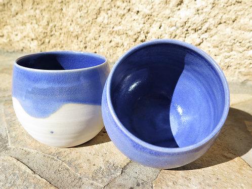 Couple de tasses Bleu Profond