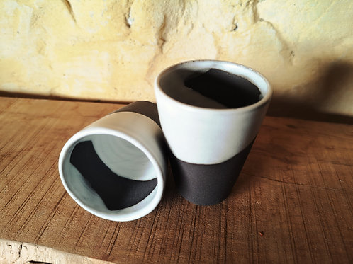Tasses expresso Noir&Blanc