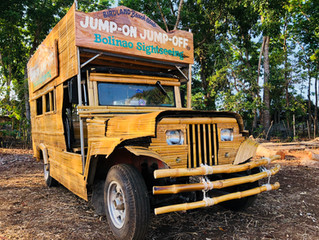 Come ride the first double decker bamboo jeepney in the world. Another first brought to you by Birdl