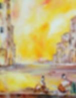 Conciliabule à Venise II 55x46 (10F)