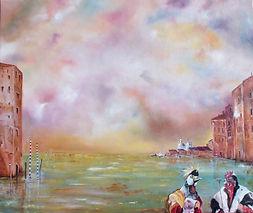 Conciliabule à Venise I 55x46 (10F)
