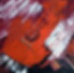 La guitare de Georges  40x40
