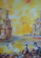 Rencontre à Venise 65x81 (25F)
