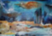 La vie en bleu 92x65(30P)