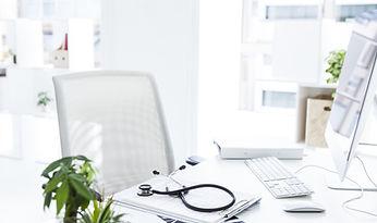 Desk do médico