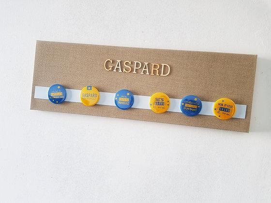 """Tableau magnétique/porte-photos """"Gaspard"""""""