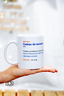 Boutique - Mug secours