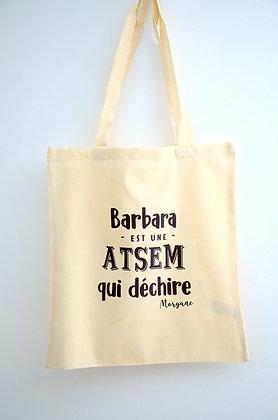 "Tote bag ""Maîtresse/ATSEM"""