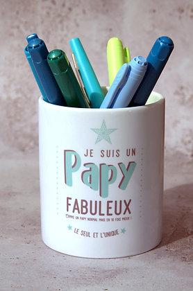 """Pot à crayons """"Papy"""""""