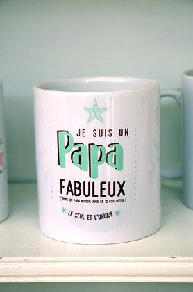 """Pot à crayons """"Papa"""""""