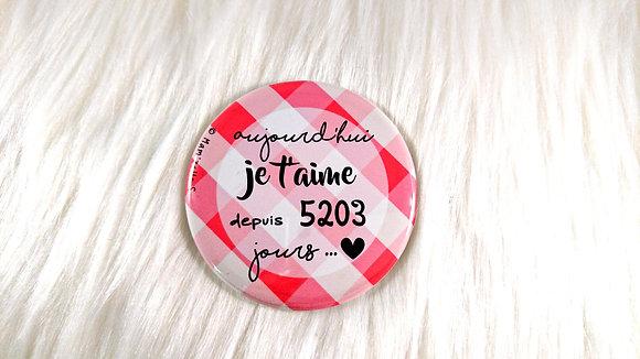 Badge - Saint Valentin