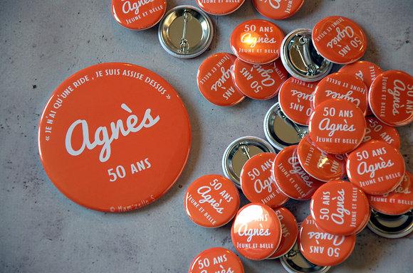 Badges d'anniversaire 32mm (personnalisable)
