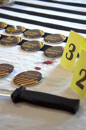 Badges d'anniversaire 56mm (personnalisable)