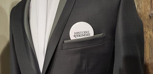 Badge Publicitaire 56mm