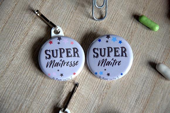 """Badge """"Super maître(sse)"""""""