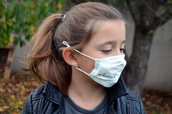 Masque Personnalisé enfant 6-11 ans