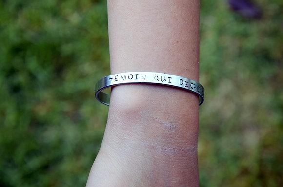 "Bracelet ""Témoin"""