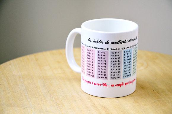 """MUG """"Tables de multiplication"""""""