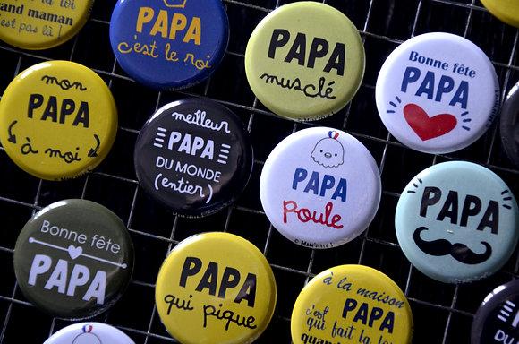 Badge - Fête des Pères
