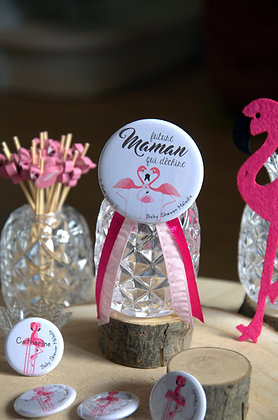"""Kit Baby Shower """"Flamant rose"""""""