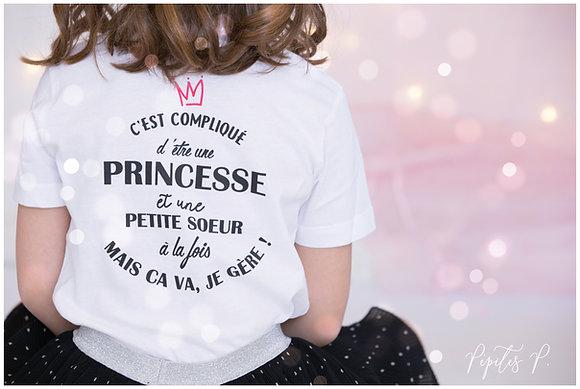 "Tee Shirt ""Petite soeur"""