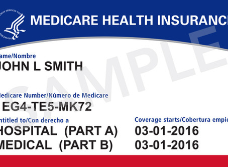 Bring your new Medicare card to your next appointment