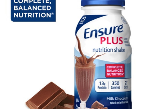 Ensure® Plus Milk Nutrition Shake
