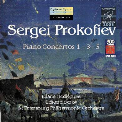 Sergei Prokofiev - Piano Concertos 1-3-5