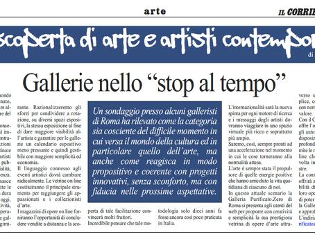 """Gallerie nello """"stop al tempo"""""""