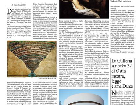 700 anni dalla morte di DANTE ALIGHIERI. Tanti artisti si sono ispirati alla sua opera