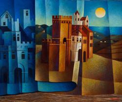 Voltare pagina (olio su tela cm.50x60)