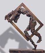 Francesco Zero - Portatore d'arte bronzo