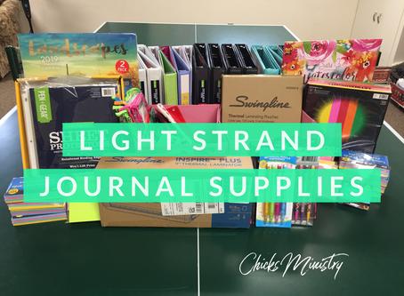 Light Strand Journal: Supply List for Beginners